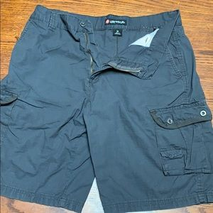 AirWalk cargo shorts size 36 Gray disc golf